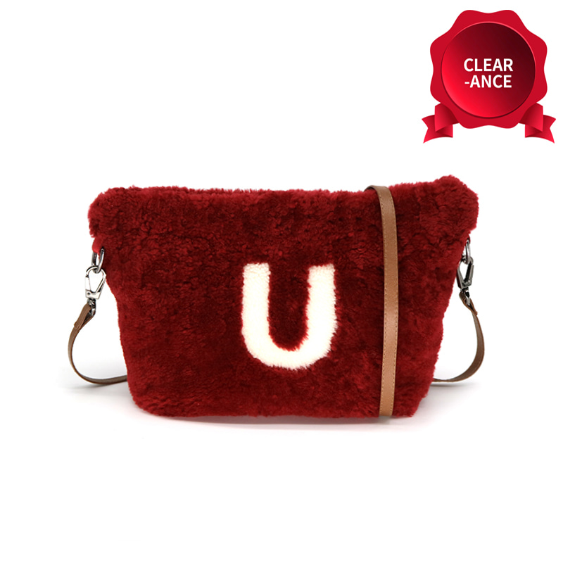 [Christmas Sale 50% OFF] Italian Lamb Fur Bag
