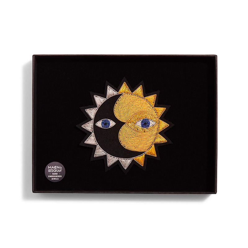 M&L Sun- Large brooch